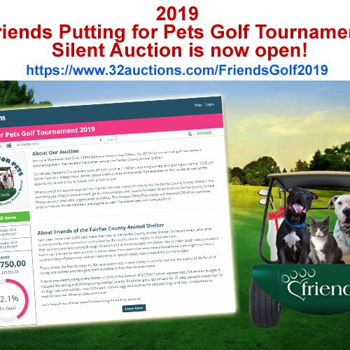 Golf Silent Auction is Live!