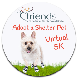Friends Adopt a Shelter Pet Virtual 5K